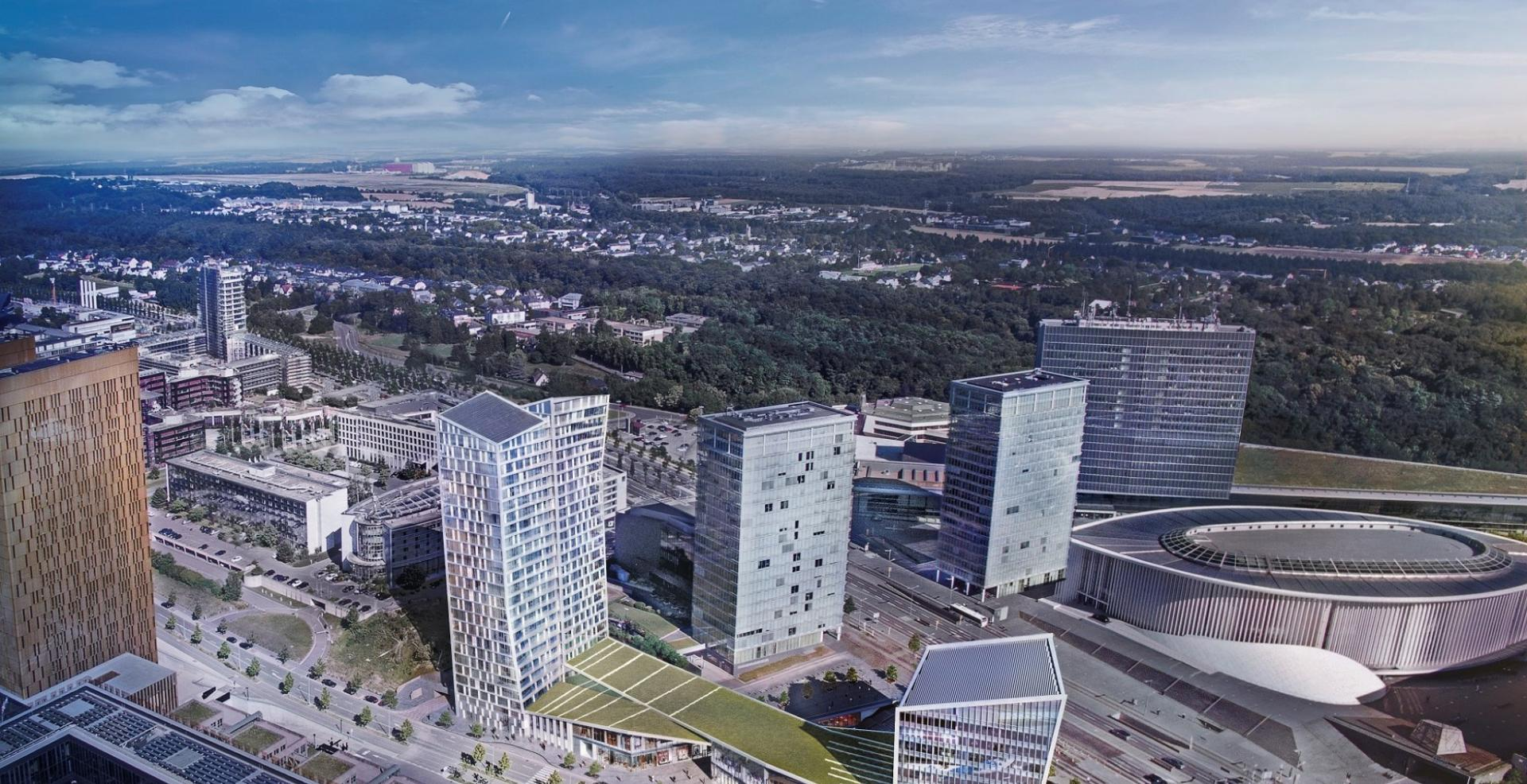 Project Infinity Living Luxembourg Immobel